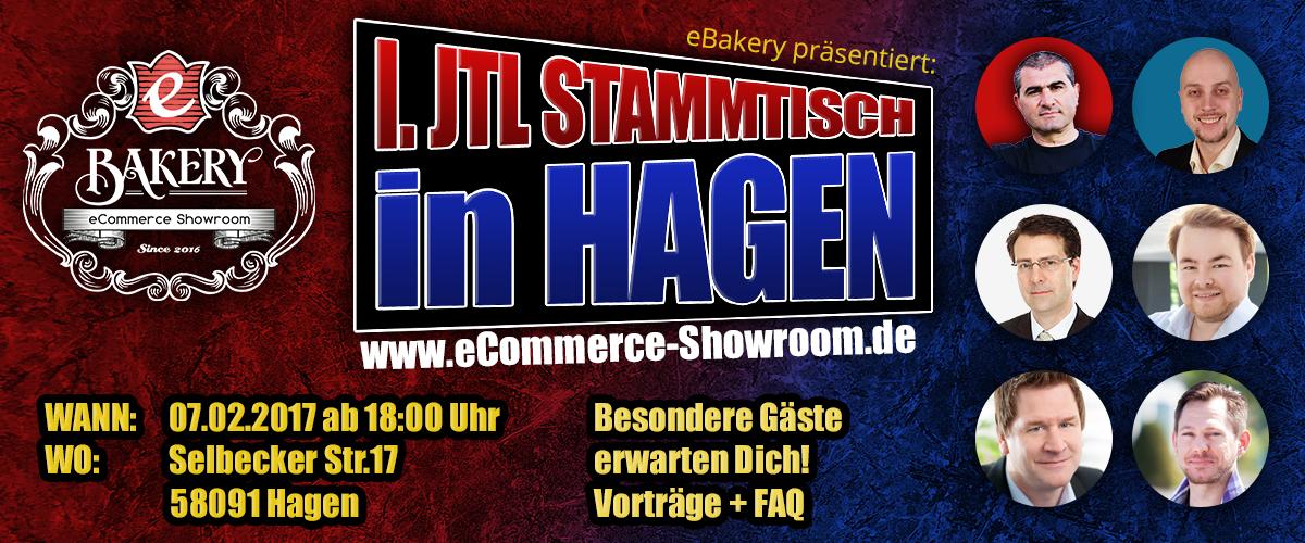 1. JTL Stammtisch in Hagen - powered by eBakery